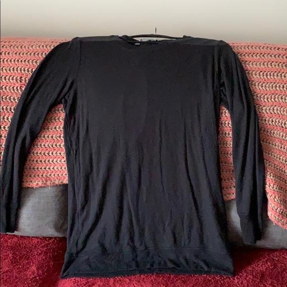 Athleta Sweaters - Athleta long black sweater size M